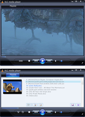 WMP11 theme for VLC